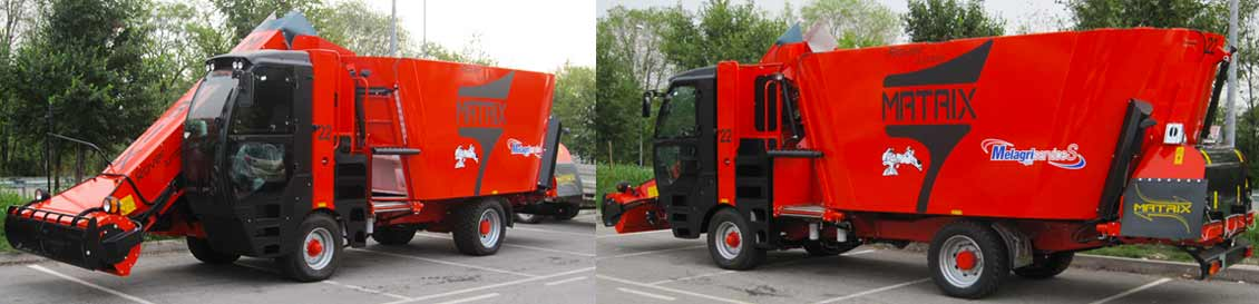 Melagri Services MATRIX Rover Jumbo